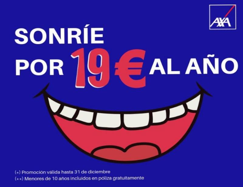 Seguro dental por menos de 19 € año