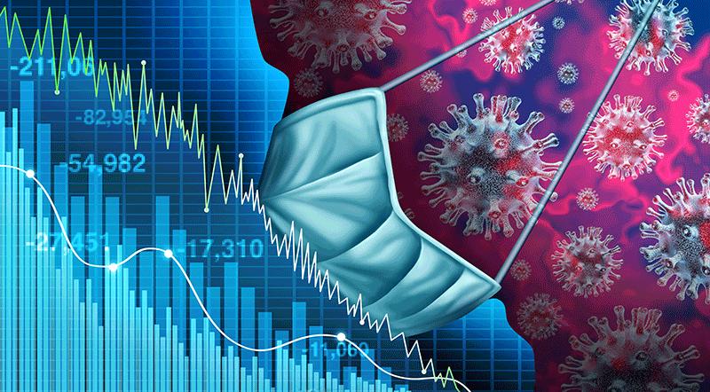 volatilidad por la crisis del coronavirus