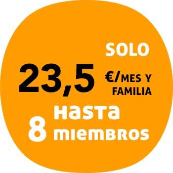 precio seguro salud familiar